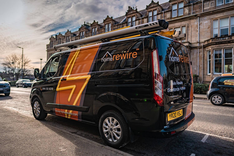 home rewire van